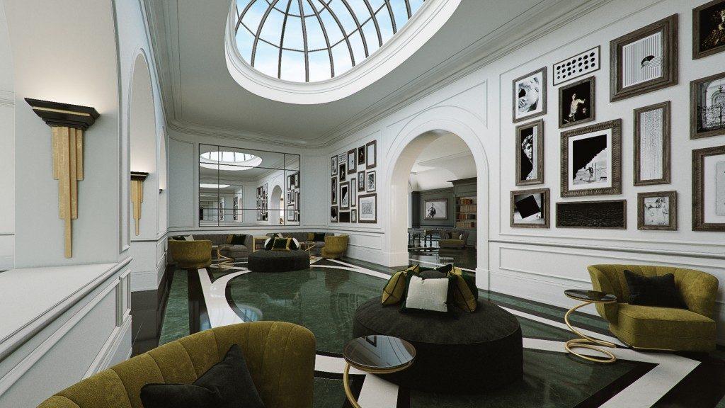 Design Hotel Il Berg Luxury Hotel Di Roma : Il design in un luxury hotel di roma fabrizia frezza