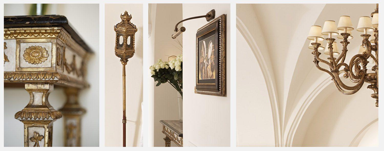 dettagli hall capri palace